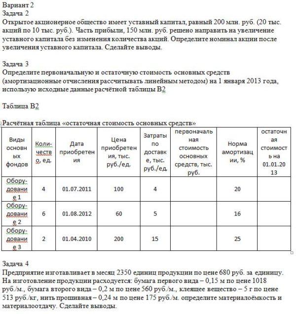 Вариант 2 Задача 2 Открытое акционерное общество имеет уставный капитал, равный 200 млн. руб. (20 тыс. акций по 10 тыс. руб.). Часть прибыли, 150 млн. руб. реше