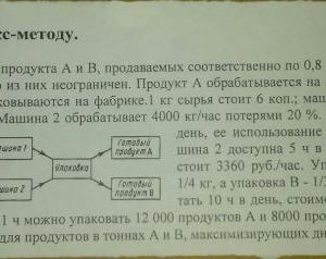 Задачи по Симплекс-методу. 1. Фирма производит два продукта А и В, продаваемых соответственно по 0,8 и по 1,5 руб. за упаковку; рынок сбыта для каждого из них н